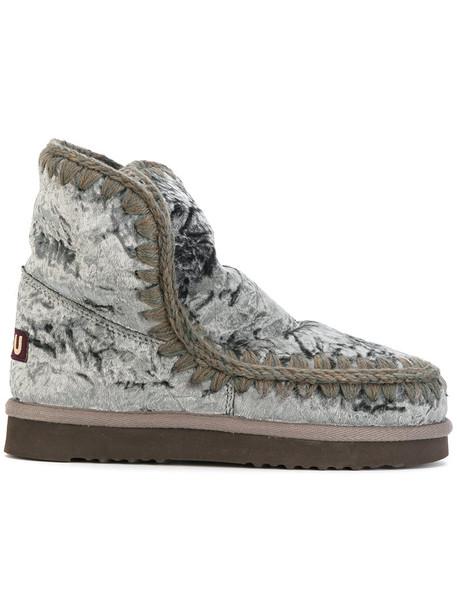 Mou women grey shoes