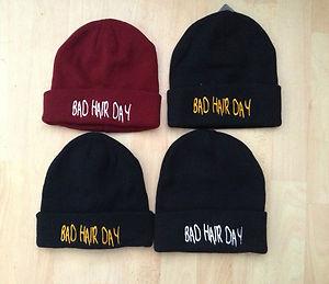 Bad Hair Day Beanie hat celebrity style aint no wifey one size winter hat asap   eBay