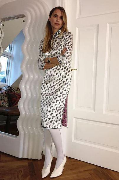 dress slit dress pernille teisbaek blogger instagram