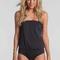 Sun seeker black one piece swimsuit elite fashion swimwear