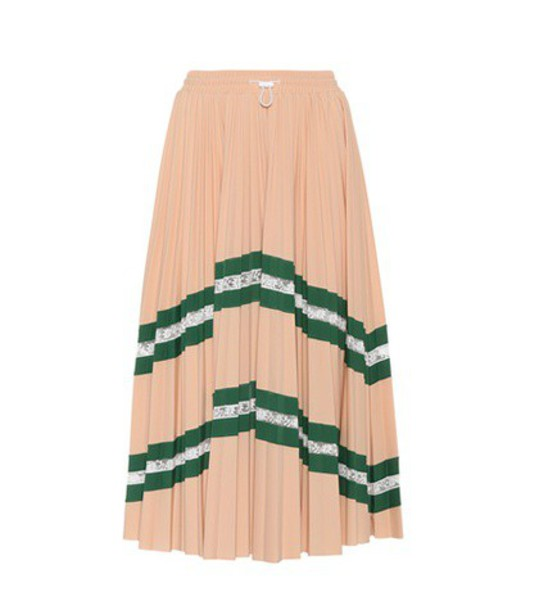 Valentino skirt lace pink