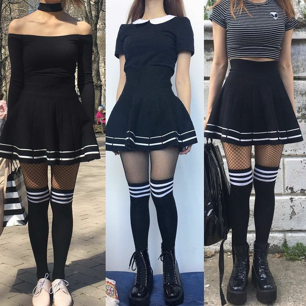 shirt sailor skirt skirt skater skirt school uniform skirt