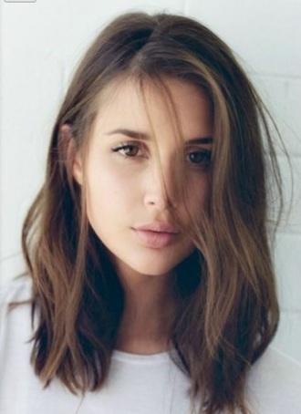make-up girl who ask hair model
