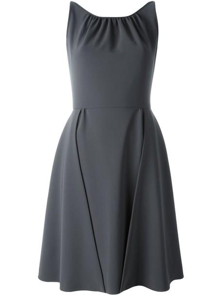 Moschino dress sleeveless dress sleeveless women spandex grey