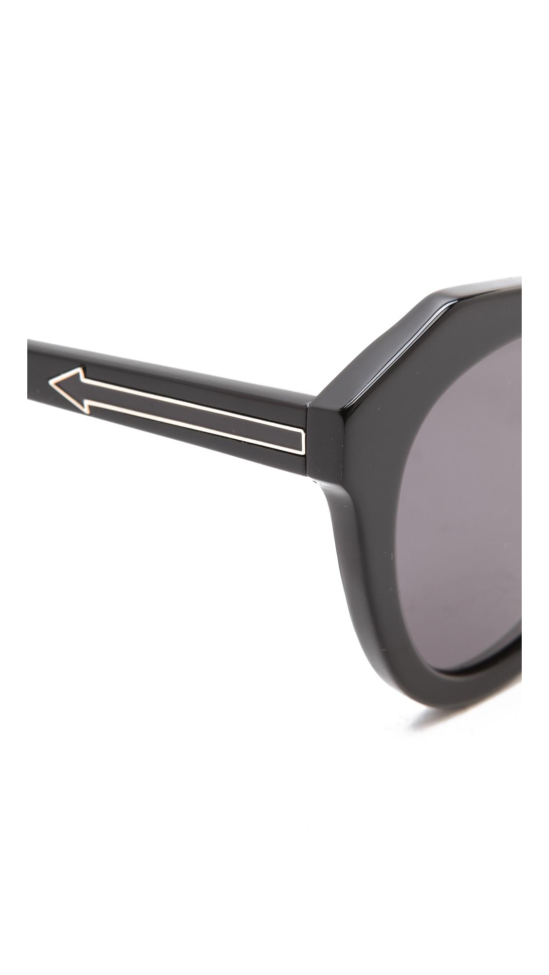 Karen Walker Number One Sunglasses   SHOPBOP