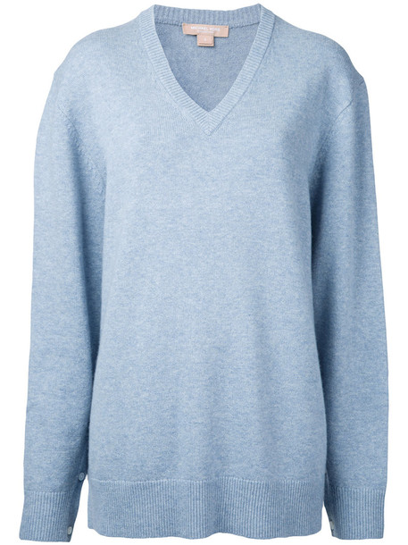 Michael Kors jumper women blue sweater