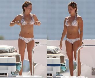 swimwear ashley tisdale bikini leopard print