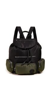 drawstring,backpack,black,khaki,bag