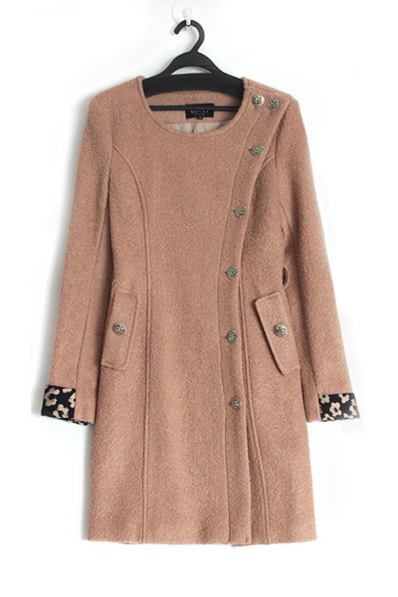 Winter New Section Slim Woolen Overcoat,Cheap in Wendybox.com