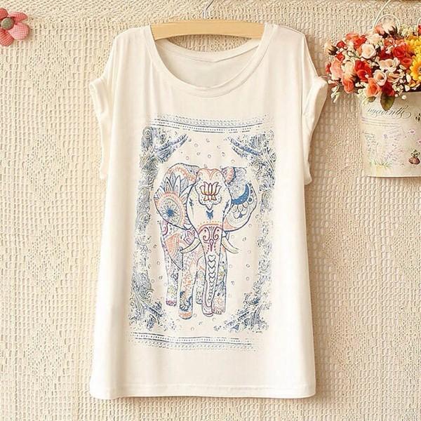 shirt elephant nice t-shirt
