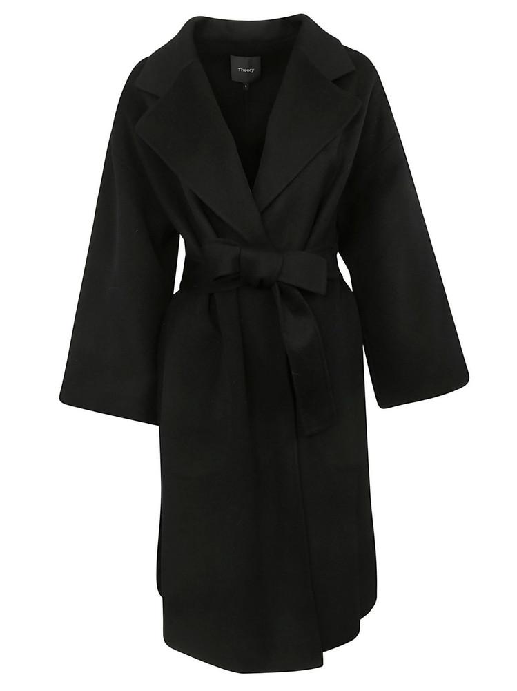 5c9ebce735 Theory Oaklane Wool Coat - Sumac - Wheretoget