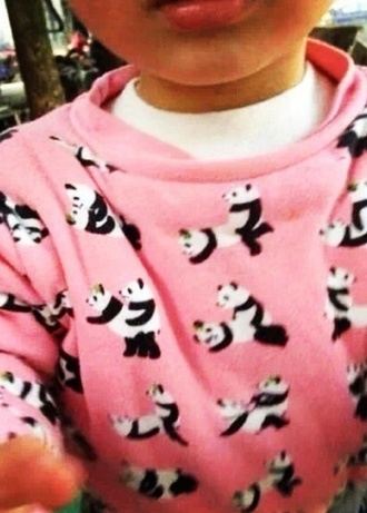 shirt panda kawaii girls cool need
