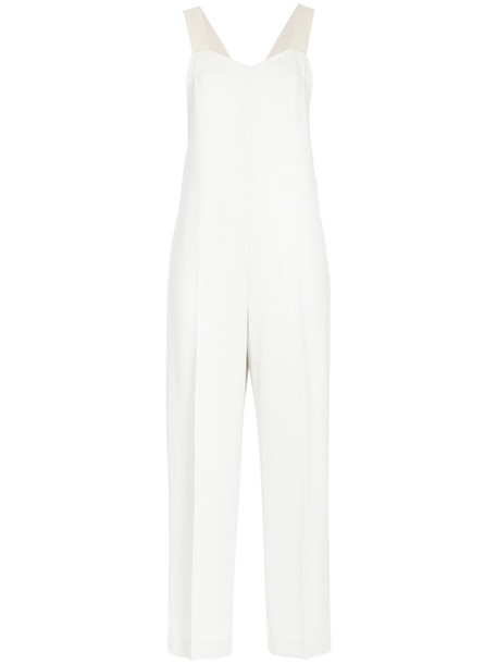 jumpsuit cropped women white