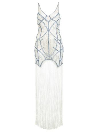 Fringed Embellished Dress - Going Out Dresses  - Dress Shop  - Miss Selfridge