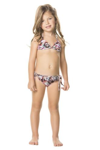 swimwear agua bendita beaded bikini set designer kids kids room print bikiniluxe