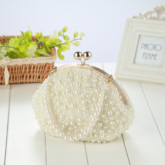 bag wedding bridal gown party bags and purses handbag classy spring wedding summer wedding bra brand fashion cute pretty hot celebrity style celebrity romantic blogger clutch bags for women women evening bags purse gorgeous wallet pearl