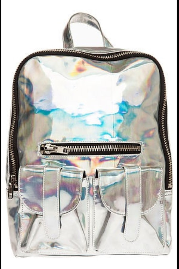 bag backpack holographic