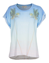 t-shirt,vacation forever,multi,boyfriend t-shirt,printed t-shirt,wildfox