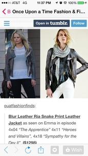coat,once upon a time show,emma swan