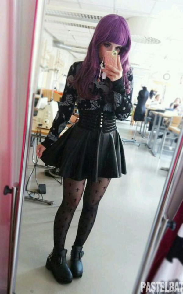 Skirt Alternative Pastel Goth Goth Grunge Wheretoget