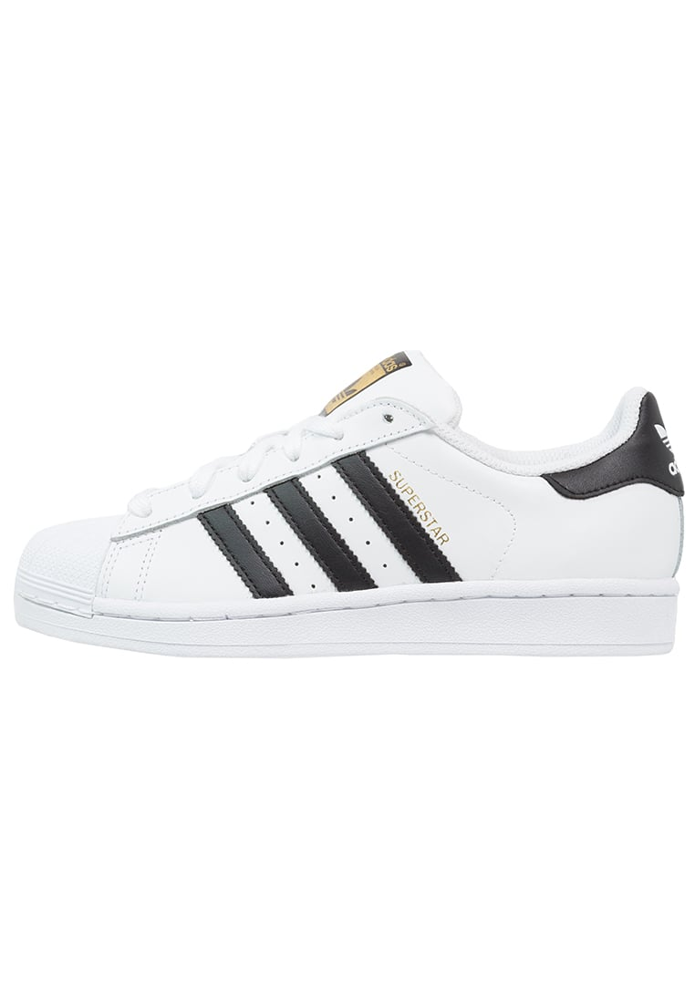 adidas Originals SUPERSTAR - Sneaker low - white/core black - Zalando.de