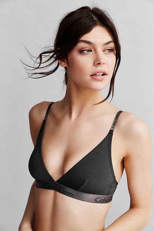 Calvin Klein Dual Tone Triangle Bra Urban Outfitters