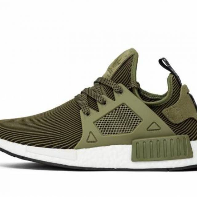 470918a24565a ADIDAS NMD XR1 PRIMEKNIT OLIVE WHITE