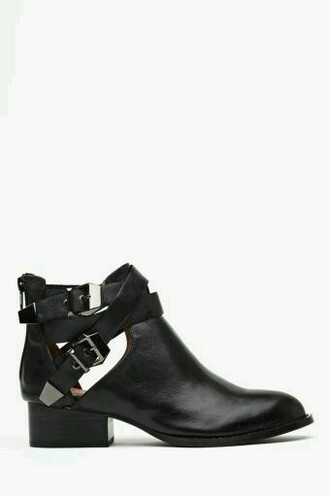 shoes black booties jeffrey campbell everly bootie