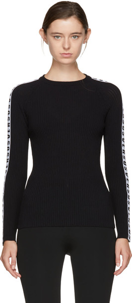 Versus sweater crewneck sweater black