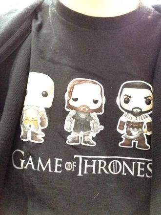 sweater jumper got jumper game of thrones shirt game of thrones