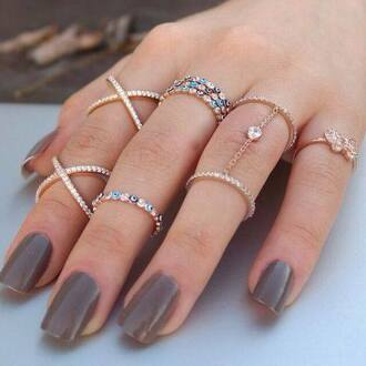 jewels ring crystal silver evil eye diamonds jewelry gold gold ring
