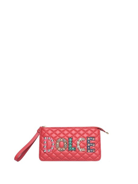 Dolce & Gabbana clutch red bag