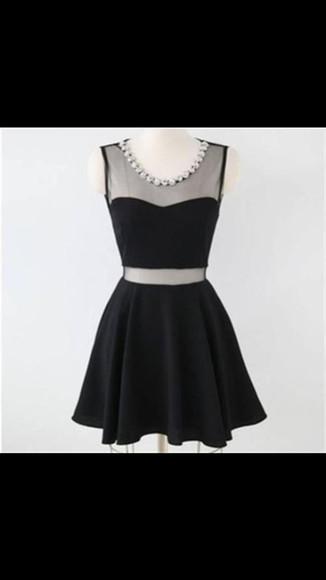 two-piece little black dress tumblr dress two piece dress set cute dress