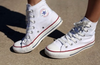 shoes white converse all star
