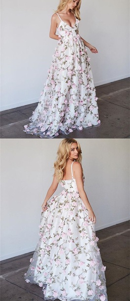 dress bryana holly floral prom dress