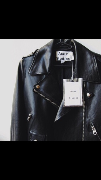 jacket leather leather jacket black black jacket black leather black leather jacket cool