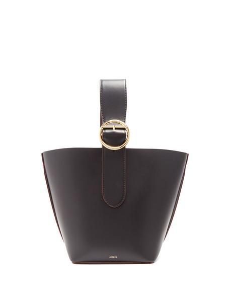 Joseph bag leather bag leather black