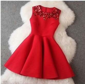 coat dress red red dress christmas faux fur faux fur vest christmas dresses