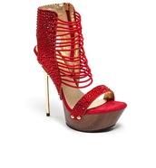 shoes,red,heels,women,womens shoes,gold,gold heels,sexy,hot,samba,rhinestones,style&pleasure