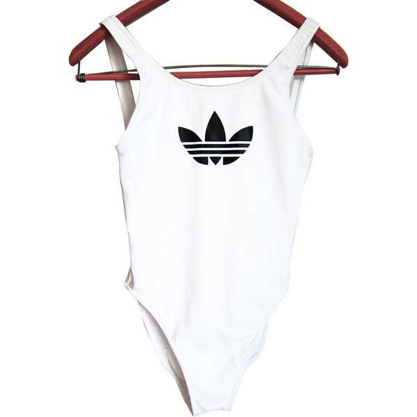 ADIDAS Authentic Vintage Swimsuit - Polyvore