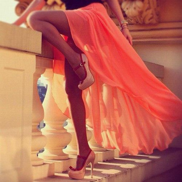 shoes skirt elegant maxi skirt maxi dress high heels girly