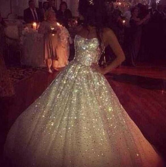 glitter long dress glitter dress maxi dress wedding clothes wedding dress