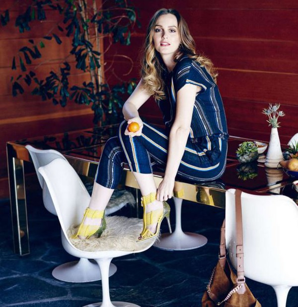 c8b2302415c2 shoes sandals yellow pants leighton meester editorial.