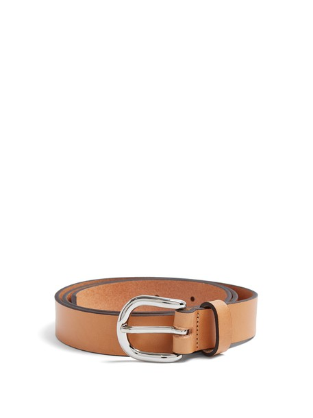 Isabel Marant belt leather tan