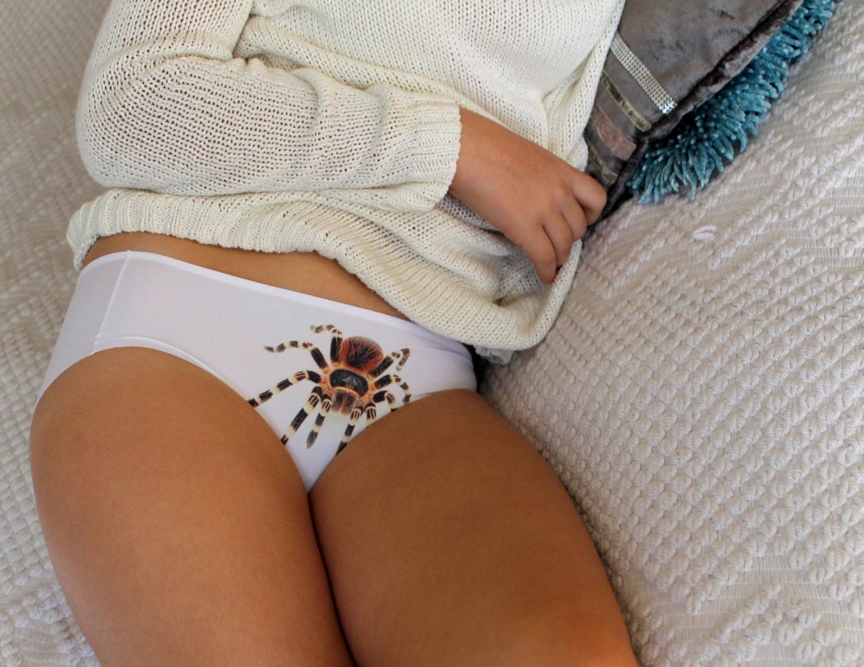 elyarn i panties, tarantula underwear, tarantula design christmas gift,Womens Underwear Design