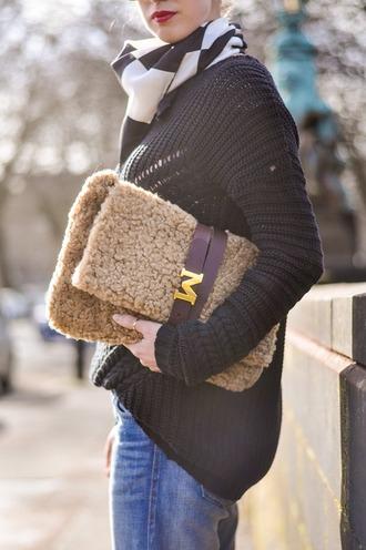 thank fifi scarf sweater shoes bag belt coat silk scarf