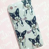 phone cover,yeah bunny,gitter,cover,iphone case,iphone cover,cute,frenchie,dog