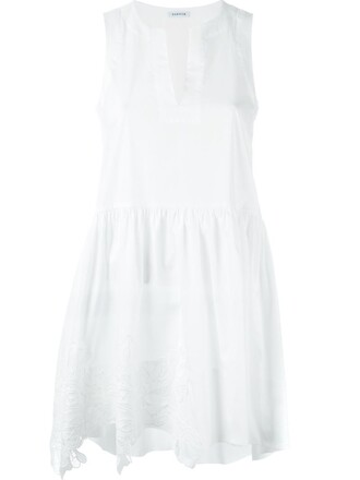 dress v neck dress women spandex v neck white cotton