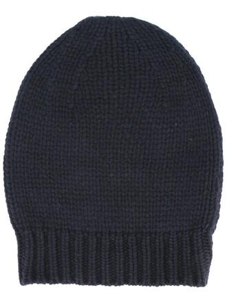 women beanie blue hat