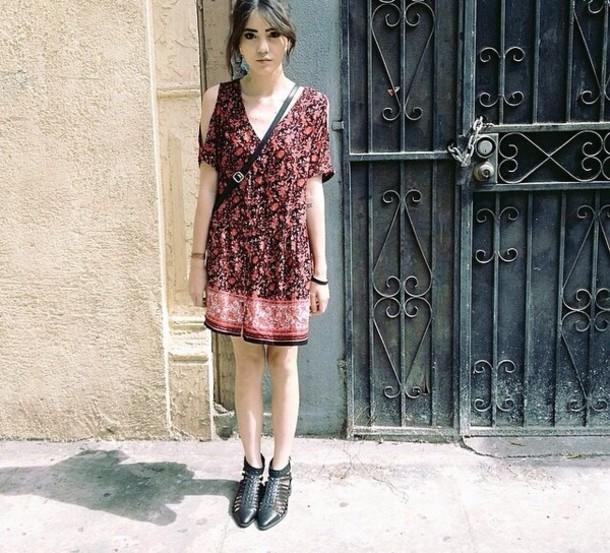 Dress Boho Dress Cute Dress Urban Urban Outfitters Hippie - Wheretoget